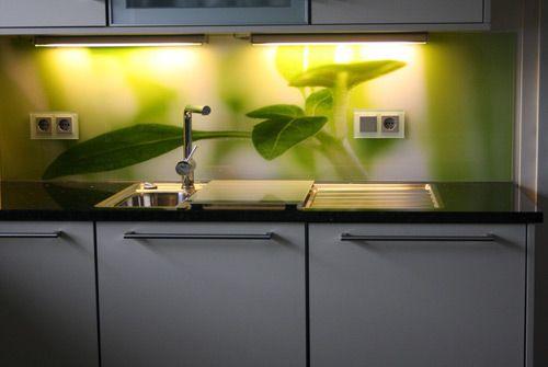 best küchen wandverkleidung glas pictures - amazing design ideas